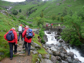 Approaching the bridge over Stickle Ghyll