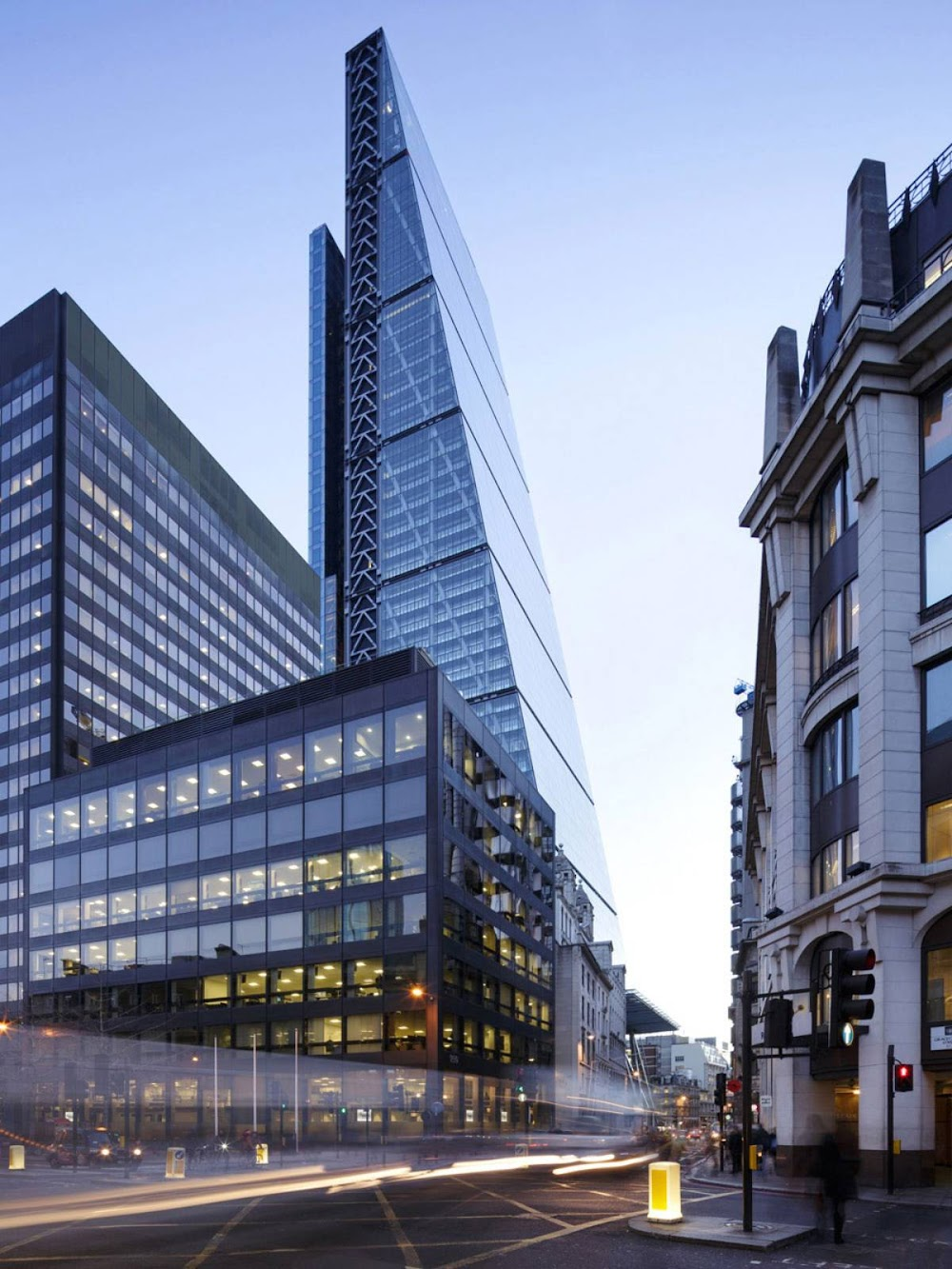 The Leadenhall Building by Rogers Stirk Harbour Partners