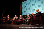 Joseph A. Califano, Ervin Duggan, Bill Moyers, Walter Mondale and George McGovern in conversation with Bob Schieffer on LBJ's Great Society