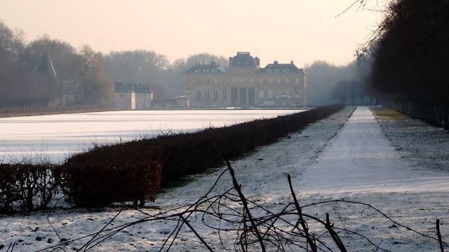 Le château du Marais par grand froid !