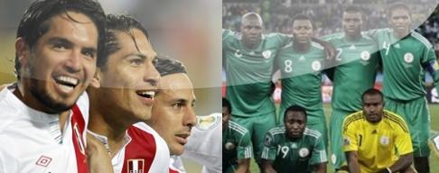 Peru vs Nigeria 23 Mayo Amistoso 2012