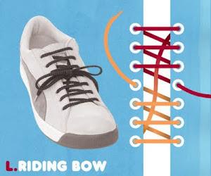 Memasang Tali Sepatu dengan Trik Riding Bow