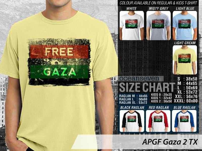 Kaos Muslim Islam Gaza 2 distro ocean seven