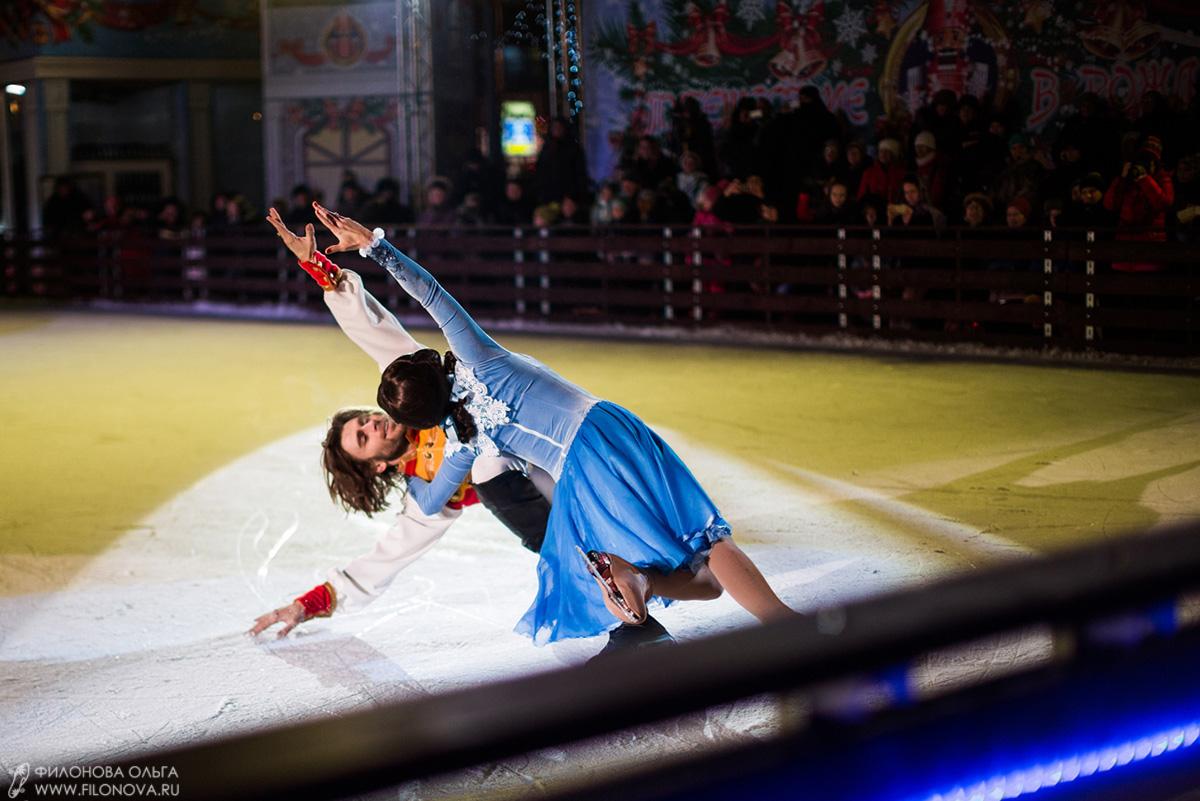 Новогодняя сказка - Щелкунчик на льду - каток на Пушкинской