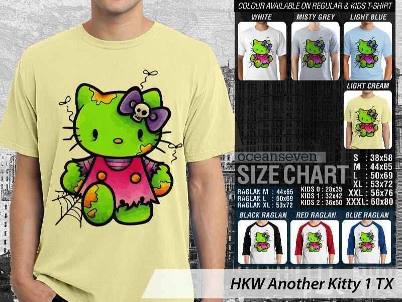 Kaos kartun lucu Another Hello Kitty 1 distro ocean seven