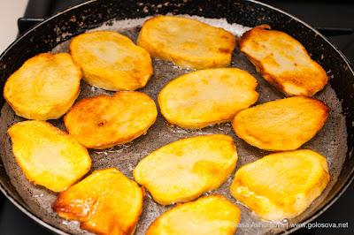 обжаренная картошка