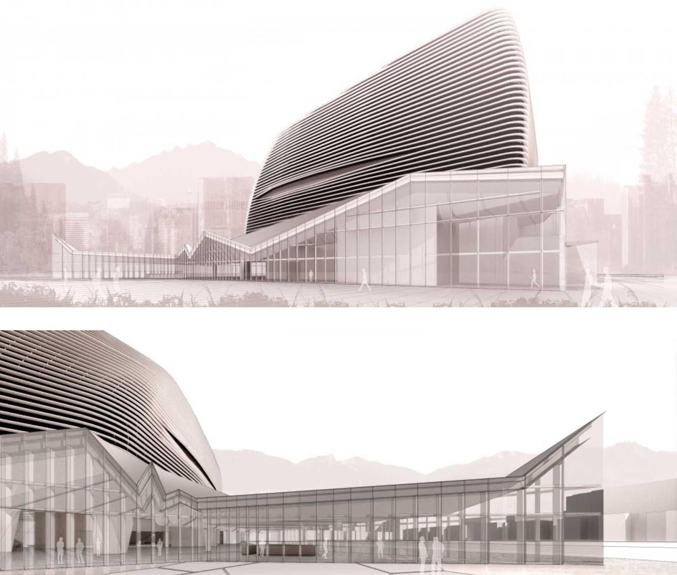 Seul corea del sud model home gallery by nadaaa art for Houseplans vivente del sud