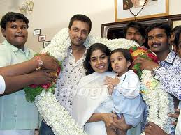 sudeep wife and daughter