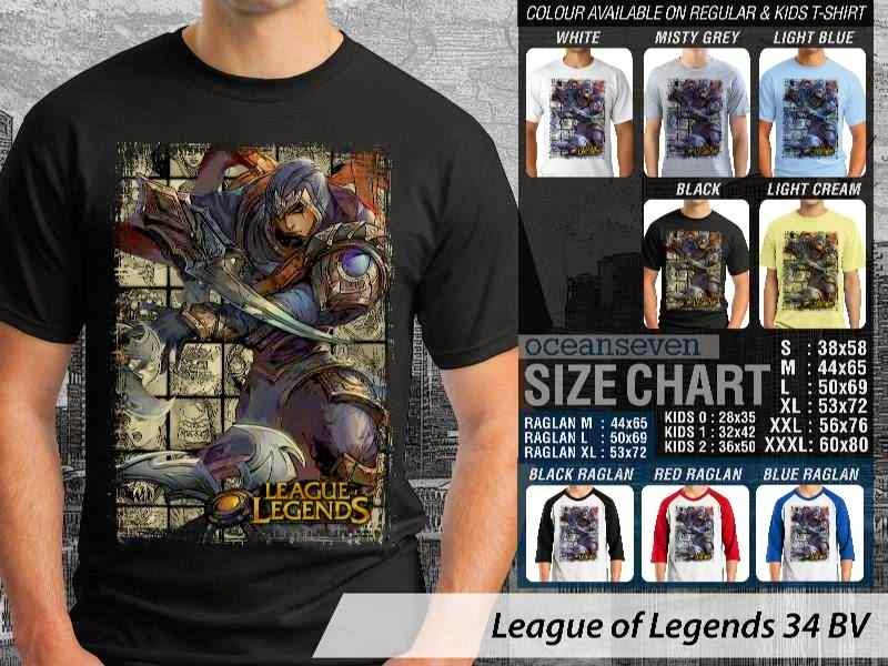 Kaos Game Online League of Legends 34 distro ocean seven