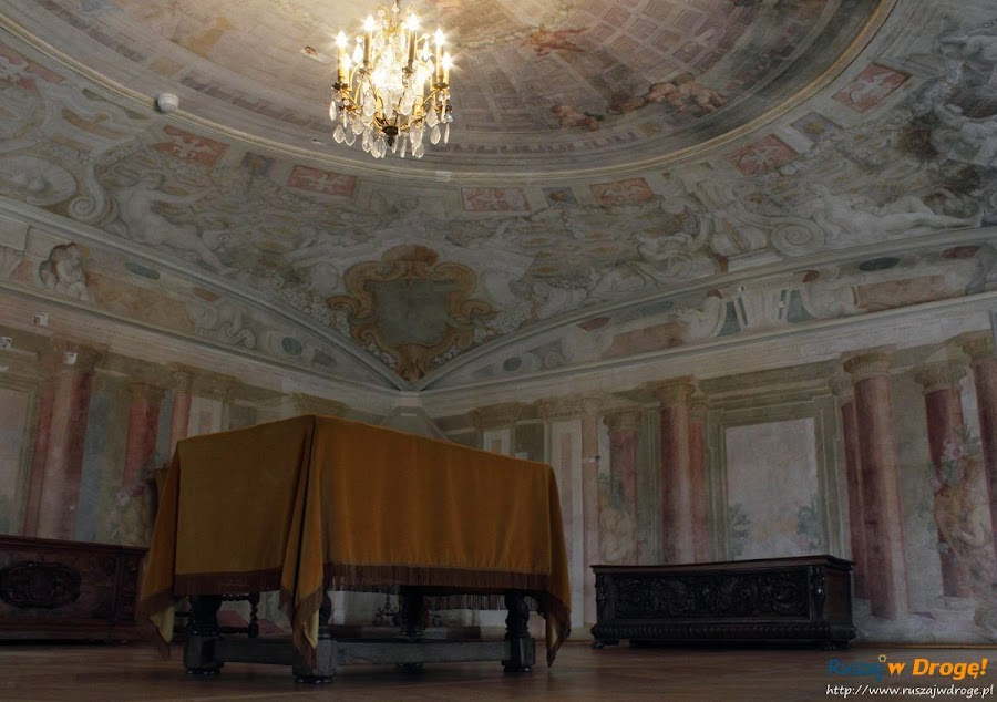 Warszawa Pałac Wilanów - wnętrza