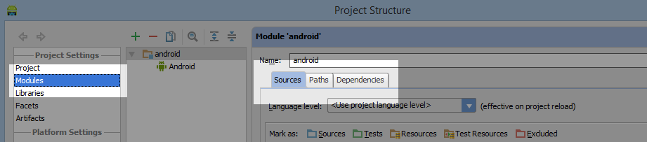 Android Studio Import PhoneGap Add WWW Folder