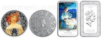 знаки Зодиака на монетах