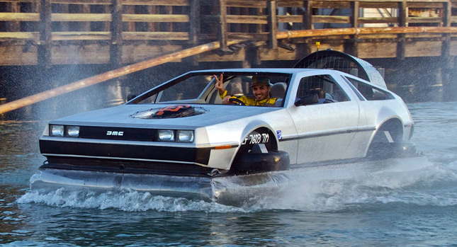 Delorean Flying Car Awesome Flying Delorean is