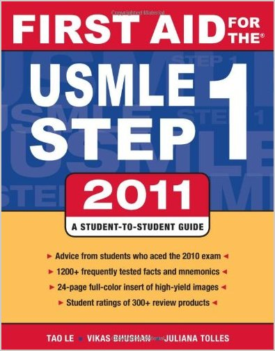 First Aid for the USMLE Step 1 21st (2011 ) Edition PDF