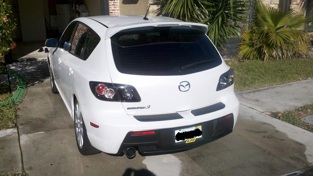 For sale 2008 5 crystal white pearl mazdaspeed 3 nissan forum nissan forums