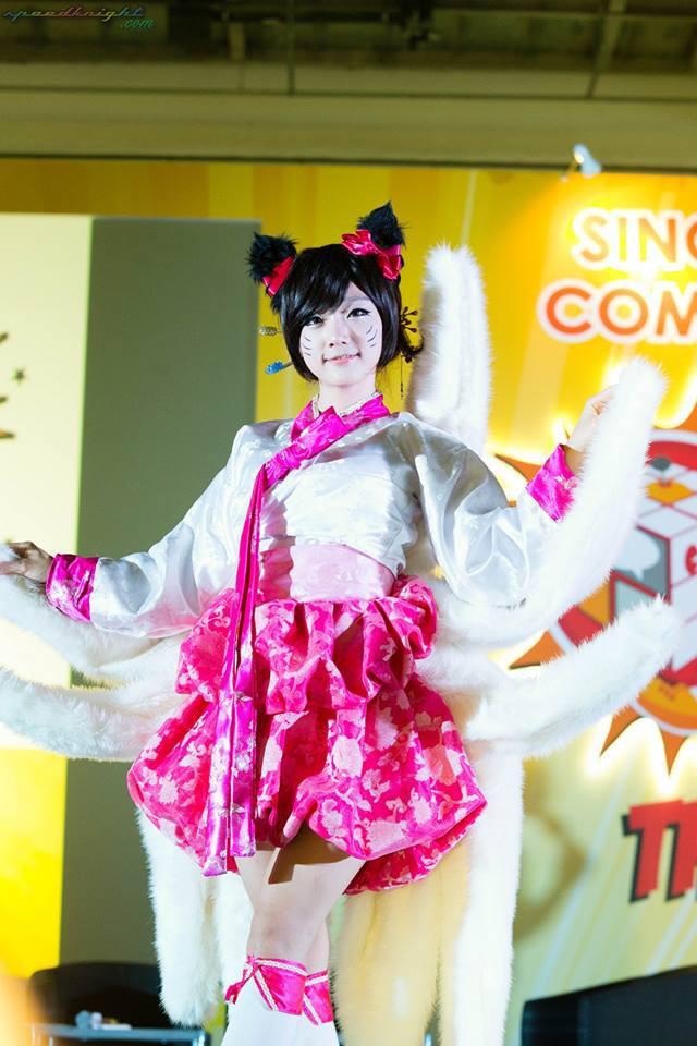 Miyuko khoe cosplay Ahri tại STGCC 2013 - Ảnh 11