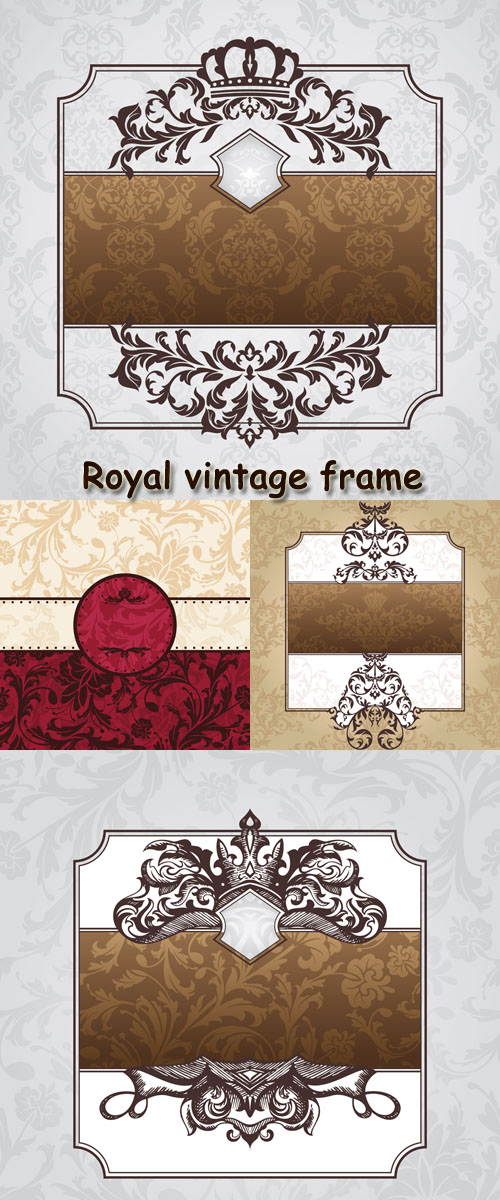 Stock: Royal vintage frame
