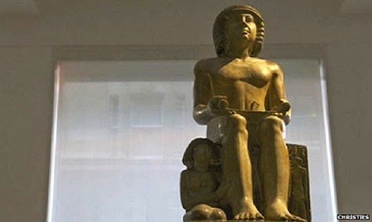 Near East: Egyptian statue to remain in the UK