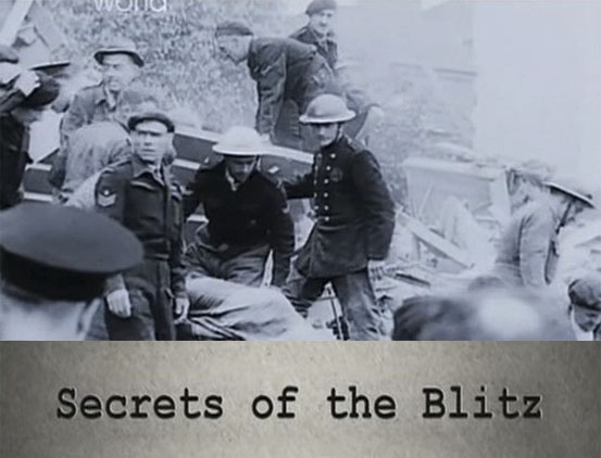 Naloty na Wielk± Brytaniê / Secrets of the Blitz (2010) PL.TVRip.XviD / Lektor PL