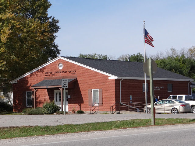 Amana, Iowa post office, 2012