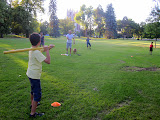 Whiffle ball in Denver City Park