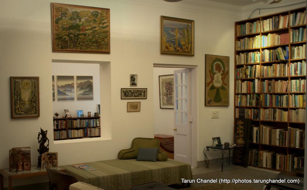 Indira Gandhi Study Room, Tarun Chandel Photoblog