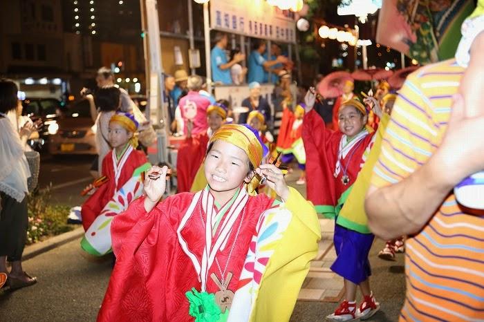 第60回よさこい祭り☆本祭2日目・上町競演場90☆上2目2943
