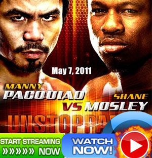 Watch Pacquiao vs. Mosley