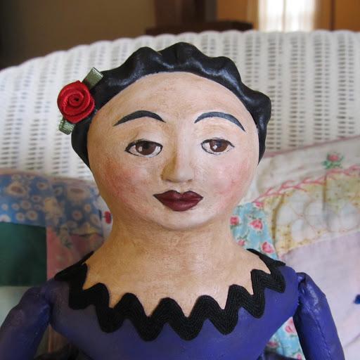 Сувенирная кукла. Лепка головы. Ярмарка Мастеров 80