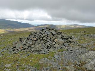 Cairn on Blencathra