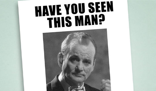 Have You Seen Bill Murray?