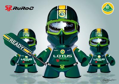 работа призера конкурса от Ruroc и Team Lotus