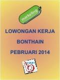 Lowongan Kerja Bonthain - Pebruari 2014