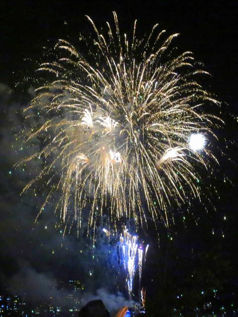 The Fukuoka Higashi-ku Fireworks