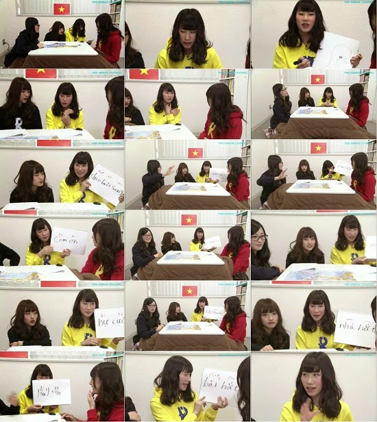 (TV-Variety)(720p) YNN [NMB48チャンネル] りぃちゃん24時間テレビ2014「石田優美の「おはようハノイ!」」 150305