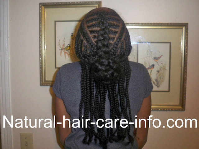 how you can do Iversion Braids & Box Braids
