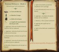Pozione Polisucco - Parte 2 - Istruzioni
