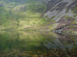 Reflections in Bleaberry Tarn