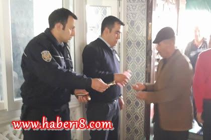 Atkaracalar İlçesinde 10 Nisan Polis Haftası etkinlikleri
