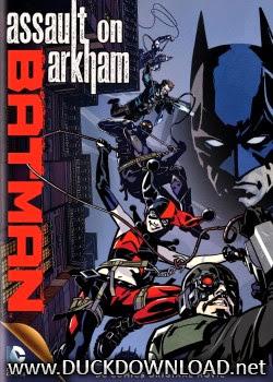 Baixar Filme Batman - Assalto em Arkham DVD-R