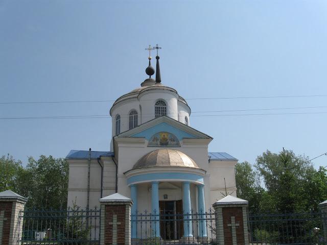 Церковь в Пархомовке