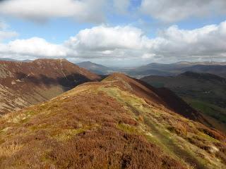 Ard Crags Summit ridge to Aikin Knott