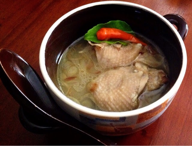 Tollo' Sarre' a.k.a Torajan chicken soup