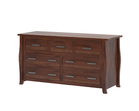 Cascade Horizontal Dresser in Montana Walnut