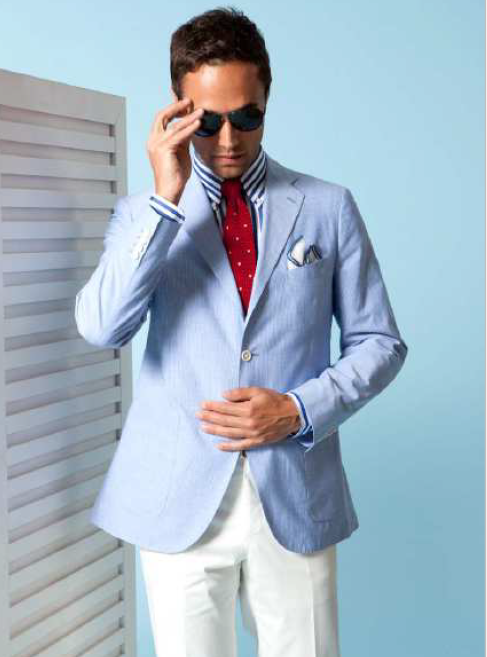 Spring Forward - Façonnable Injects Chic Ease into the New Season [men's fashion]