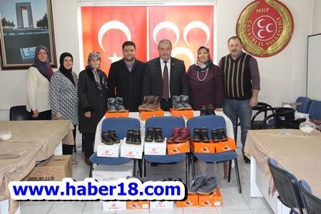 MHP'den  Çankýrý'daki Ýhtiyaç Sahiplerine Yardým