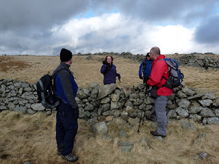 ... then it was Lesley and Keith (although we first met them at Threshthwaite Mouth).