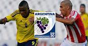 Colombia vs. Paraguay en Vivo - Sudamericano Sub 20