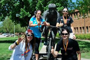 Ladies I love racing with - MSU Race Weekend - Apr 2012 - By Hannah Clark