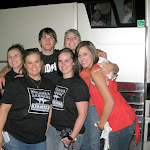 I got mobbed by fans thinking our bus was Miranda's...They wanted a picture but their camera died, so I said i would use mine and put this picture on my site